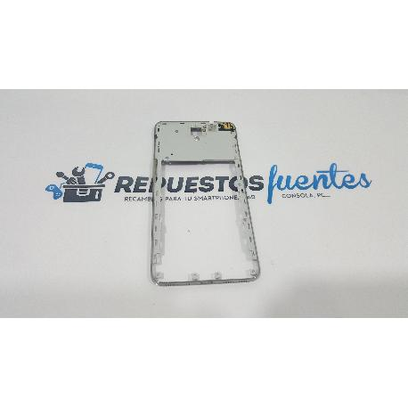 CARCASA INTERMEDIA ORIGINAL ALCATEL ONE TOUCH IDOL X+ PLUS OT-6043 - RECUPERADA