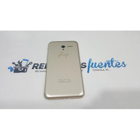 TAPA TRASERA ORIGINAL PARA ALCATEL ONE TOUCH POP 3 5 5065D - RECUPERADA