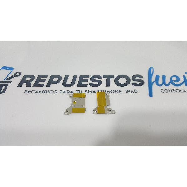 CHAPAS METALICAS DE SUJECION ORIGINAL PARA ALCATEL IDOL 4 6055K - RECUPERADA