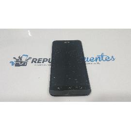 REPUESTO PANTALLA LCD + TACTIL CON MARCO ORIGINAL PARA ASUS ZENFONE 2 ZE551ML Z00AD NEGRA - RECUPERADA