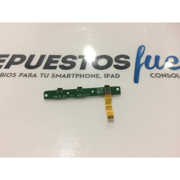 FLEX DE BOTONES ORIGINAL PARA TABLET NEVIR NVR-TAB8 S1 - RECUPERADO