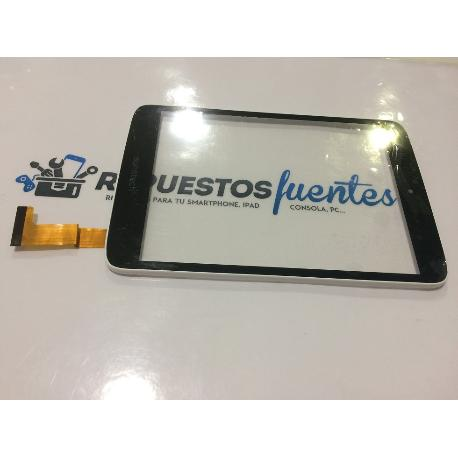 PANTALLA TACTIL CON MARCO ORIGINAL TABLET SUNSTECH TAB785DUAL 4GB - RECUPERADA