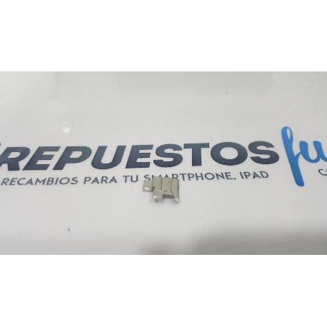 ADAPTADOR DE JACK AUDIO ORIGINAL PARA LG X CAM K580 PLATA - RECUPERADO