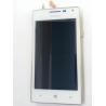Pantalla Lcd + Tactil + Marco Frontal Original Huawei Ascend W1 Blanca