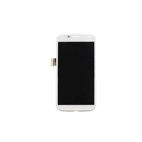 Pantalla Lcd + Tactil + Marco Frontal Original Motorola Moto X XT1060 Negra