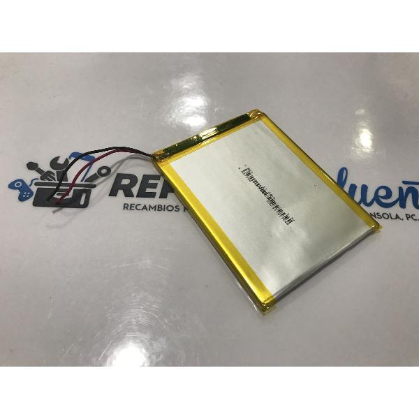 BATERIA (7.5X9.5CM) 2 CABLES ORIGINAL TABLET CLEMPAD CLEMENTONI 13008 - 13663 RECUPERADA