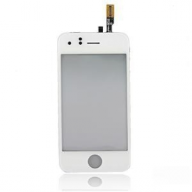 Cristal y touchscreen tactil Iphone 3G blanca