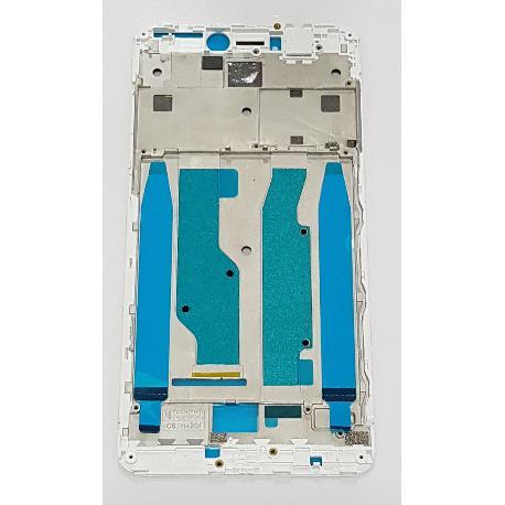 CARCASA FRONTAL DE LCD PARA XIAOMI REDMI NOTE 4X - BLANCA