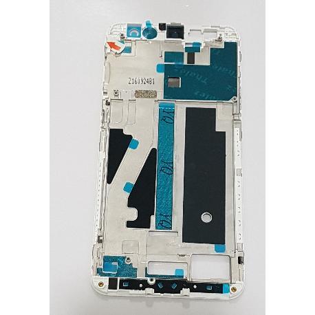 CARCASA FRONTAL DE LCD PARA ZTE BLADE V7 - BLANCA