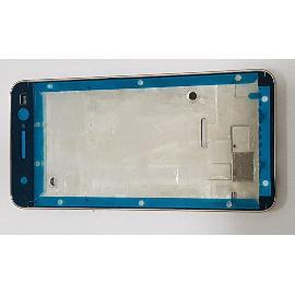 CARCASA MARCO FRONTAL DE LCD PARA ZTE V7 LITE - ORO