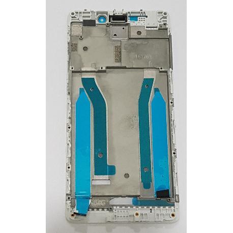 CARCASA FRONTAL DE LCD PARA XIAOMI REDMI 4 PRO / 4 PRIME - BLANCA