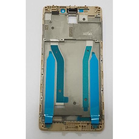 CARCASA FRONTAL DE LCD PARA XIAOMI REDMI 4 PRO / 4 PRIME - ORO