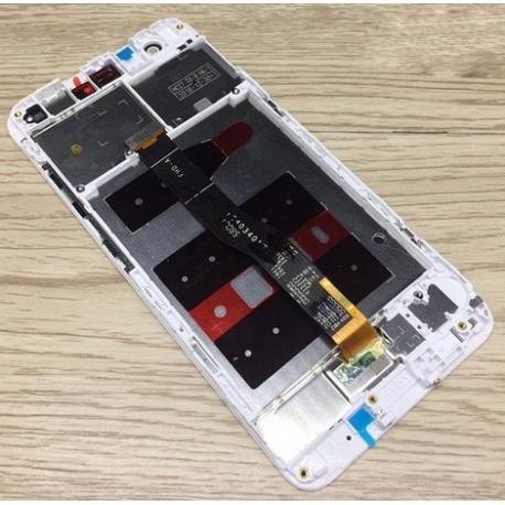 PANTALLA TACTIL + LCD DISPLAY CON MARCO PARA HUAWEI NOVA - BLANCA