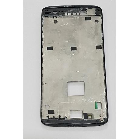 CARCASA FRONTAL DE LCD PARA ALCATEL ONE TOUCH IDOL 3 OT-6039 DE 4.5 PULGADAS