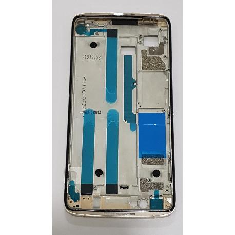 CARCASA FRONTAL DE LCD PARA ALCATEL IDOL 4 6055 - ORO