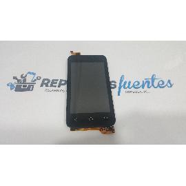PANTALLA LCD + TACTIL CON MARCO ORIGINAL PARA VODAFONE SMART FIRST 6 VF695 - RECUPERADA
