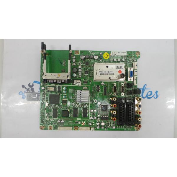 PLACA BASE MAIN BOARD TV SAMSUNG PS50A417C2D BN41-00879B - RECUPERADA
