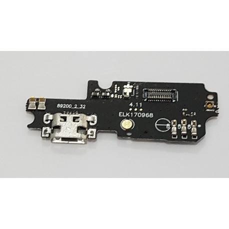 MODULO DE CARGA MICRO USB Y MICROFONO PARA ASUS ZENFONE 3S MAX ZC521TL