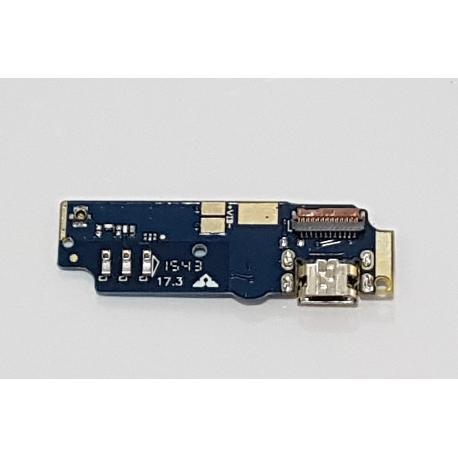 MODULO CONECTOR DE CARGA MICRO USB Y MICROFONO PARA ASUS ZENFONE MAX ZC550KL Z010D