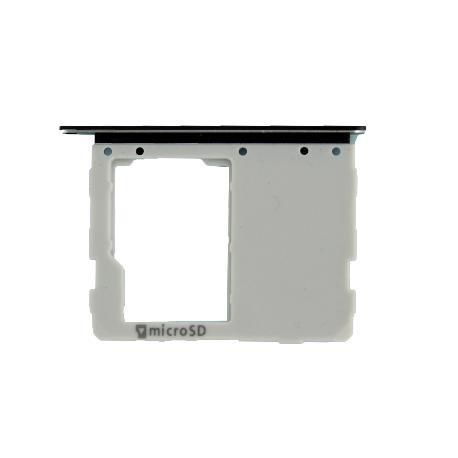 BANDEJA DE TARJETA MICRO SD PARA SAMSUNG SM-T820 GALAXY TAB S3 9.7 WIFI - NEGRA