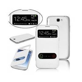 Funda Libro Samsung Galaxy Note 2 N7100 Blanca