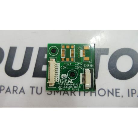 PLACA LK-LE6005-001A REV:1.0 ROHS TV SUPRATECH SUPRAVISION HERA S1503DVT