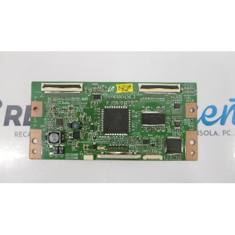 PLACA T-CON BOARD TV TOSHIBA 40LV685D SYNC60C4LV0.3 - RECUPERADA