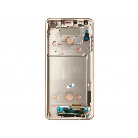 PANTALLA LCD DISPLAY + TACTIL CON MARCO ORIGINAL PARA LG G6 H870 - BLANCA