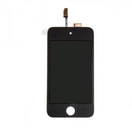 pantalla lcd + tactil + cristal para ipod 4G todo asemblado completo negro