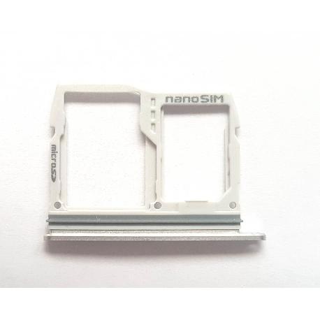 BANDEJA DE TARJETA SIM Y MICROSD PARA LG G6 H870 - GRIS