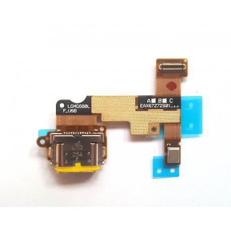 MODULO CONECTOR DE CARGA Y MICROFONO PARA LG G6 H870