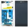 Pantalla lcd + tactil completa con marco Sony Xperia Z1 C6902 C6903 Blanca de desmontaje