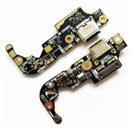 MODULO CONECTOR DE CARGA MICROUSB Y MICROFONO PARA ASUS ZENFONE 3 ZE520KL