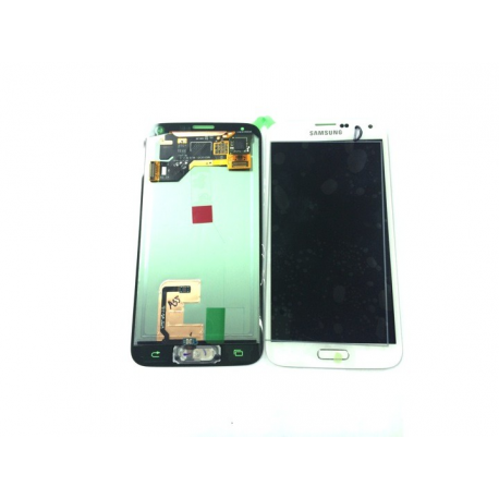 Pantalla Lcd Display + Tactil Original Samsung Galaxy S5 i9600 SM-G900 Blanca