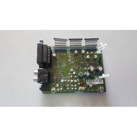 PLACA MAIN AV BOARD QPWBFD604WJN3 PARA TV SHARP LC-32GD8E - RECUPERADA