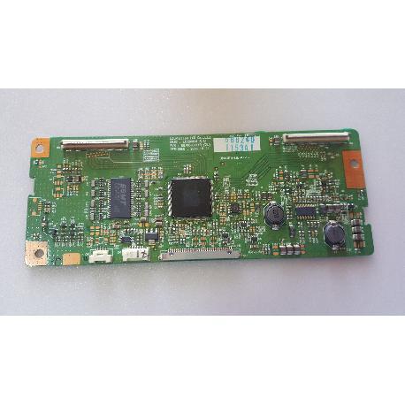 PLACA T-CON BOARD LC320WX4-SLA1 P/N 6870C-0114B PARA TV LG 32LC45 - RECUPERADA