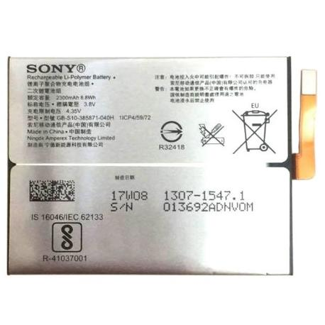 BATERIA ORIGINAL PARA SONY XPERIA XA1 G3121, G3123, G3125