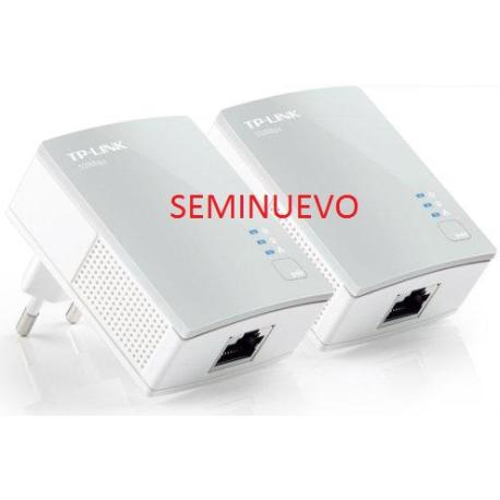 ADAPTADORES PLC - TPLINK AV500 KIT NANO POWERLINE, 500MBPS - TL-PA1010P - SEMINUEVO