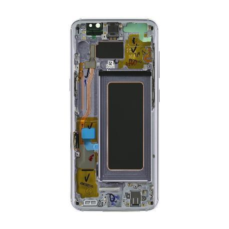 PANTALLA DISPLAY LCD+TACTIL CON MARCO ORIGINAL PARA SAMSUNG SM-G950F GALAXY S8 - VIOLETA