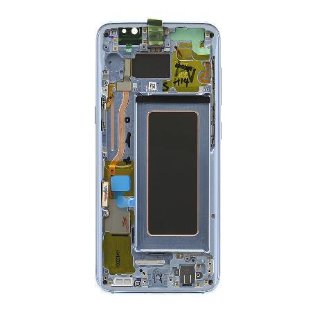 PANTALLA DISPLAY LCD+TACTIL CON MARCO ORIGINAL PARA SAMSUNG SM-G950F GALAXY S8 - AZUL