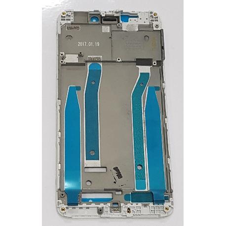 CARCASA FRONTAL DE LCD PARA XIAOMI REDMI 4X - BLANCA