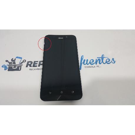 PANTALLA LCD DISPLAY + TACTIL CON MARCO ORIGINAL PARA ASUS ZENFONE MAX ZC550KL Z010D NEGRA - RECUPERADA