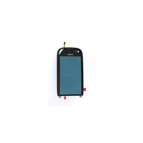 Pantalla Tactil Original con Marco Nokia 701 Plata
