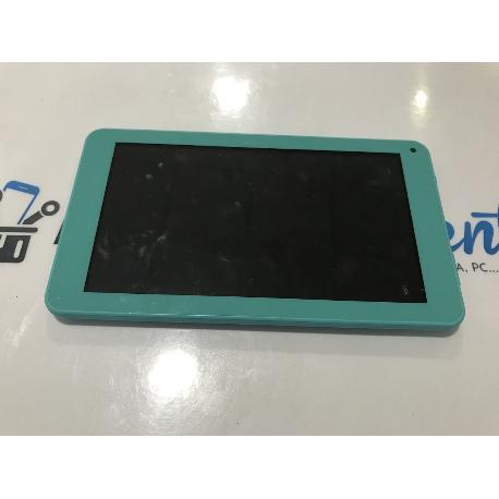 PANTALLA LCD + TACTIL CON MARCO VERDE ORIGINAL SELECLINE MW7526L / 871369 - RECUPERADA