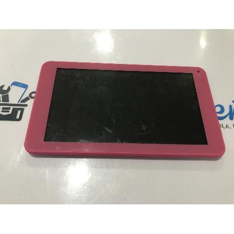 PANTALLA LCD + TACTIL CON MARCO ROSA ORIGINAL SELECLINE MW7526L / 871369 - RECUPERADA
