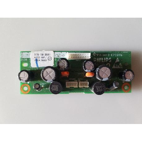 PLACA DE MODULO AMPLIFICADOR DE AUDIO 3139 188 89051 PARA TV PHILIPS 32PF3320/10 - RECUPERADA