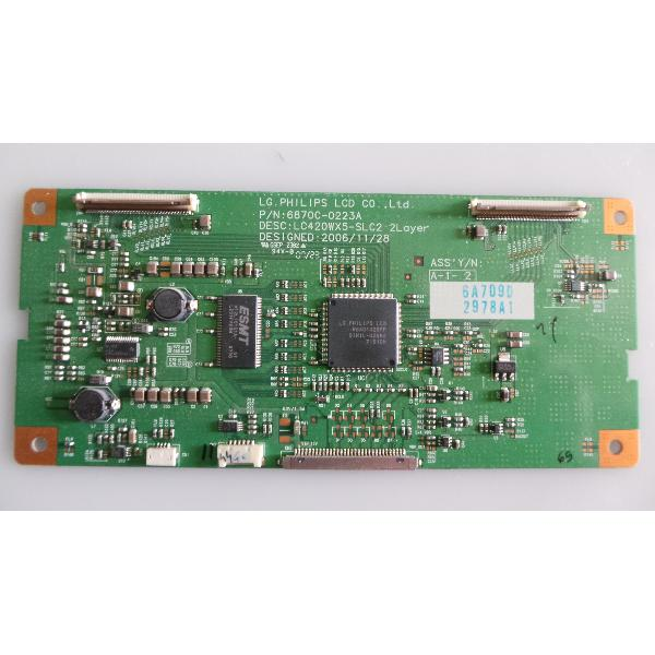 PLACA T-CON BOARD TV PHILIPS 42PF5522D/12 6870C-0223A - RECUPERADA