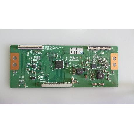 PLACA T-CON BOARD TV LG 42LS3400 6870C-0401C - RECUPERADA