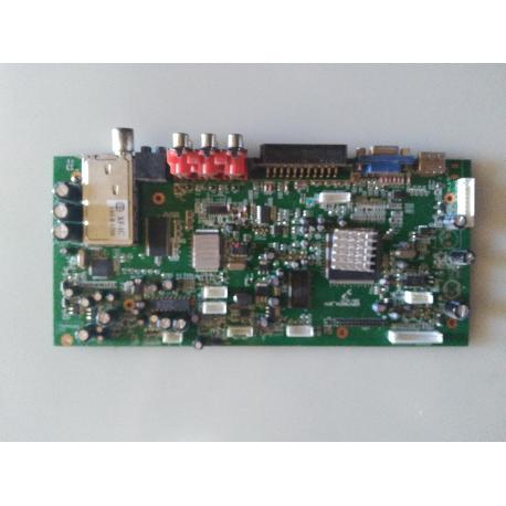 PLACA BASE MAIN MOTHERBOARD KSPV7100TVL_IDTV TV SUPRATECH S-2601T - RECUPERADA