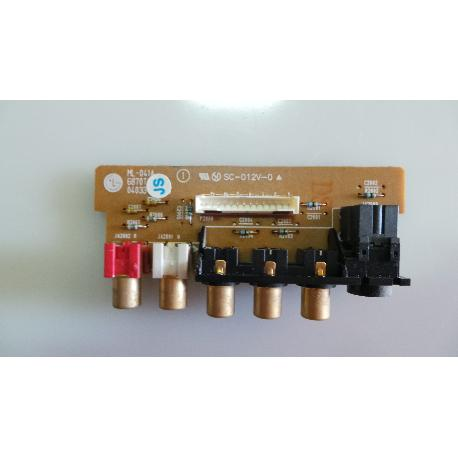 PLACA  ENTRADA AV TV LG RZ-32LZ50 ML-041A 6870T871B11 - RECUPERADA